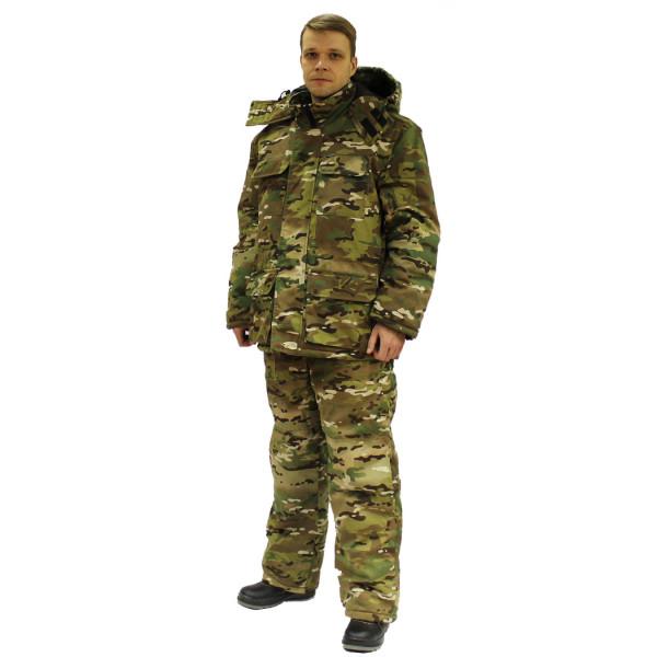 Костюм мужской утепленный Турист КМФ ягель